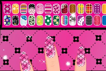 Juego manicura de Draculaura de Monster High